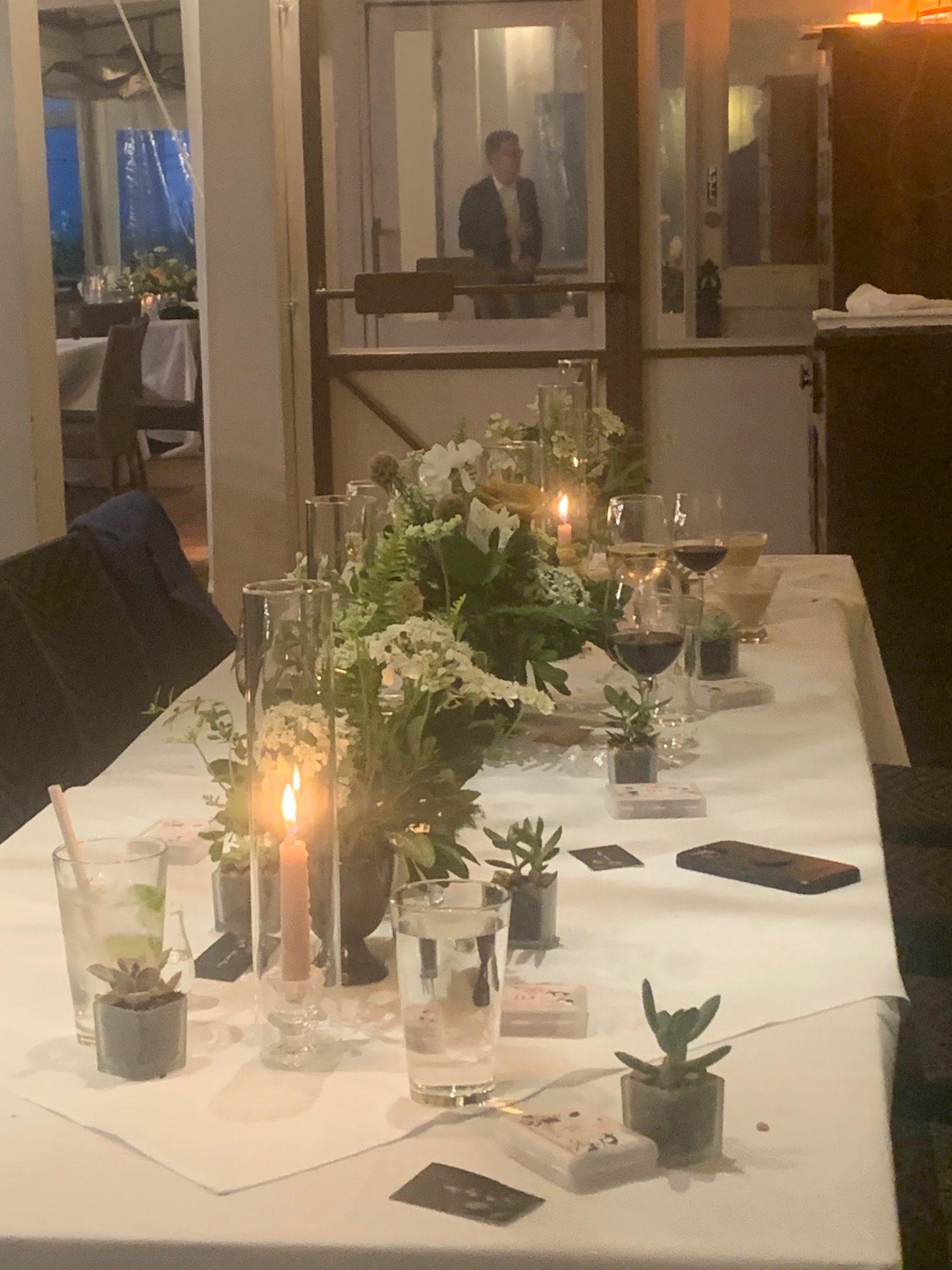 Private reception