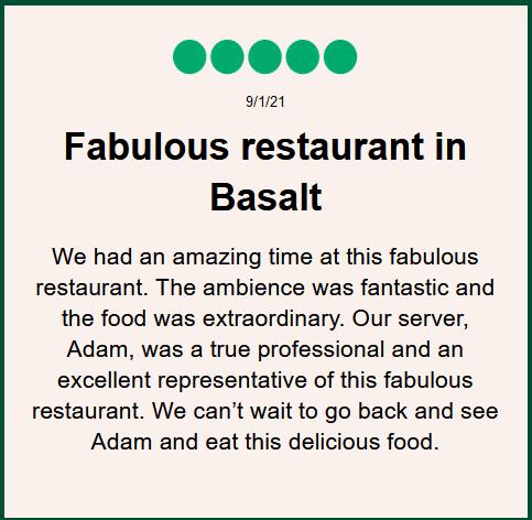 Tempranillo Restaurant Review